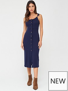 superdry-charlotte-button-down-dress-navy