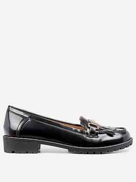 dorothy-perkins-lewis-loafer-black