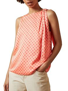 ted-baker-terisa-halter-neck-top-pink