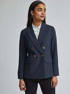 dorothy-perkins-petite-glossy-blazer