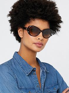 accessorize-willow-metal-detail-disc-wrap-sunglasses-tortoiseshell