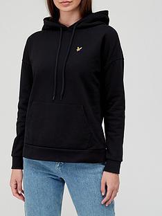 lyle-scott-hoodie-black