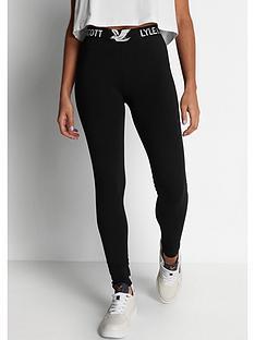 lyle-scott-leggings-black