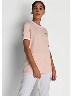 lyle-scott-ringer-t-shirt-pink