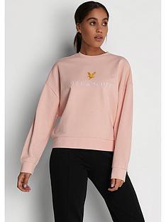 lyle-scott-archive-sweatshirt-pink