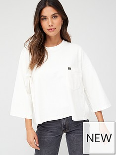 superdry-coded-pocket-top-cream