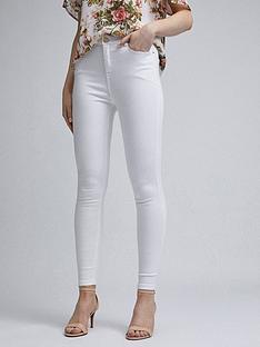 dorothy-perkins-dorothy-perkins-short-white-shape-and-lift-skinny-jeans