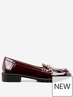 dorothy-perkins-lewis-loafer-burgundy