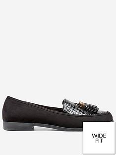 dorothy-perkins-dorothy-perkins-wide-fit-lille-loafer-black