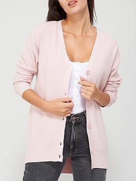 v-by-very-curved-hem-button-up-cardigan-blush