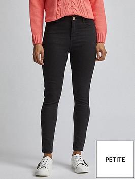 dorothy-perkins-petite-shape-amp-lift-jeans-black