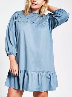 river-island-broidery-smock-mini-dress-blue