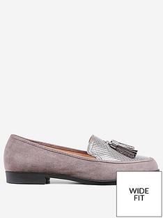 dorothy-perkins-wide-fit-lille-loafer