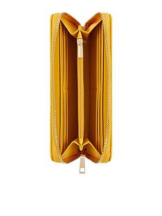 accessorize-bees-knees-zip-around-wallet-yellow