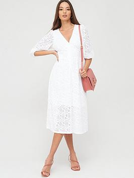 river-island-broderie-anglaise-midi-smock-dress-white