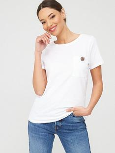 river-island-river-island-turnback-sleeve-button-tee-white