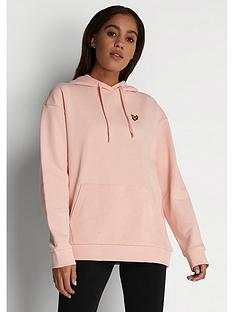 lyle-scott-hoodie-pink
