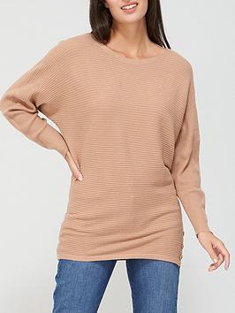 v-by-very-wide-neck-fine-knit-top-camel