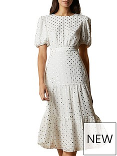 ted-baker-mariani-tiered-midinbspdress-ivory