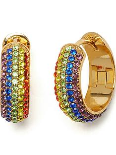 kate-spade-new-york-rainbow-pave-huggies-earrings-multicolour