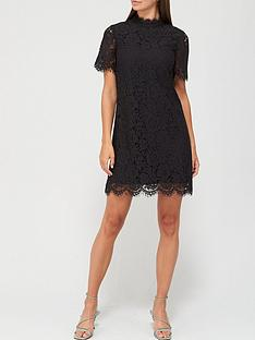 v-by-very-high-neck-lace-tunic-dress-black