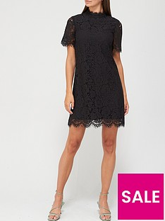 v-by-very-high-neck-lace-tunic-dress-black