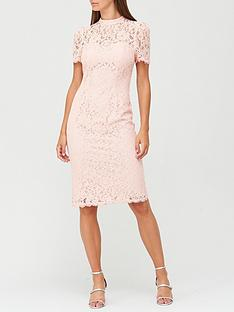 v-by-very-high-neck-lace-pencil-dress-blush