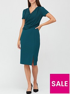v-by-very-drape-formal-midi-dress