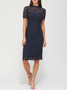 v-by-very-high-neck-lace-pencil-dress-navy