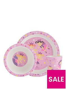viners-fairies-3-piece-kids-dinner-set