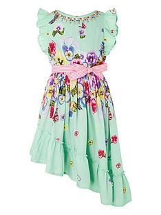 monsoon-girls-pansy-dress-green