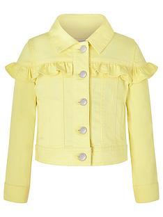 monsoon-girls-layla-denim-jacket-lemon