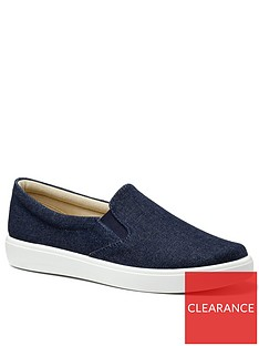 hotter-tara-canvas-slip-on-shoes-denim-blue