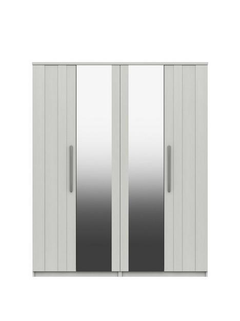 taylor-part-assembled-4-door-mirrored-wardrobe