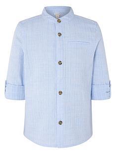 monsoon-boys-jamie-texture-shirt-blue