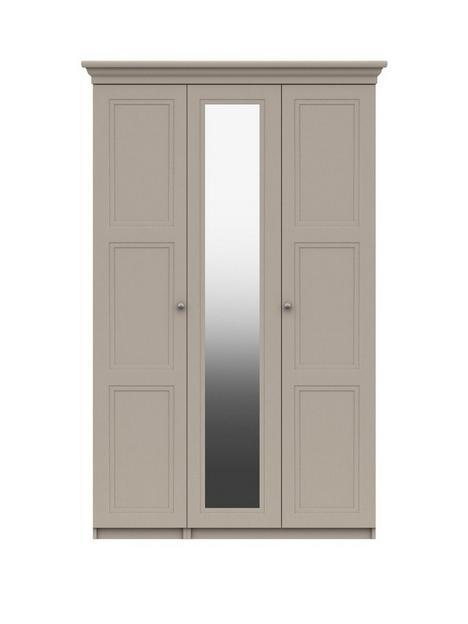 reid-part-assemblednbsp3-doornbspmirrored-wardrobe