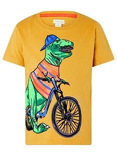 monsoon-boys-rex-dino-tee-mustard