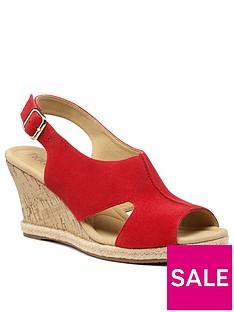 hotter-aruba-wedge-sandals-red