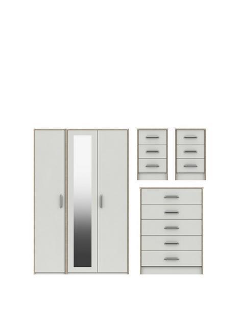 brianne-part-assemblednbsp4-piece-package-3nbspdoor-mirrored-wardrobe-5-drawer-chest-and-2-bedside-chests