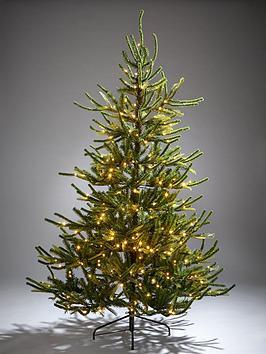 7ft-fraser-fir-upswept-pre-lit-mixed-tips-christmas-tree