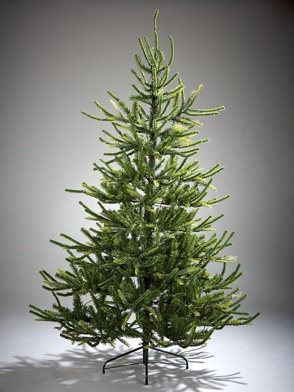 7ft Fraser Fir Upswept Pre Lit Mixed Tips Christmas Tree Very Co Uk