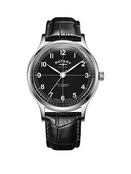 rotary-rotary-heritage-black-automatic-dial-black-leather-strap-mens-watch