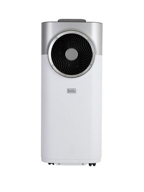 black-decker-bxac40008gb-12000-btu-portable-3-in-1-air-conditioner-dehumidifier-amp-cooling-fan-white