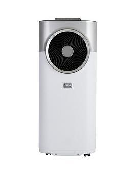 Black & Decker Bxac40008Gb 12,000 Btu Portable 3-In-1 Air Conditioner, Dehumidifier  Cooling Fan, White