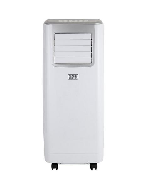 black-decker-bxac40006gb-9000-btu-portable-3-in-1-air-conditioner-dehumidifier-cooling-fan-white