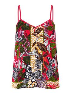 monsoon-bessie-butterfly-print-cami-pink