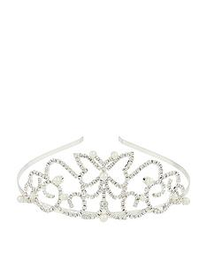 monsoon-girls-mariposa-diamante-tiara-silver