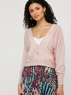 monsoon-briyanna-blouson-linen-blend-cardigan-pink