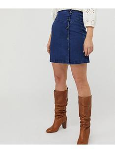 monsoon-kora-denim-pelmet-skirt-blue