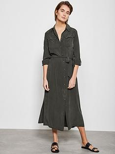 mint-velvet-utility-midi-shirt-dress-khaki